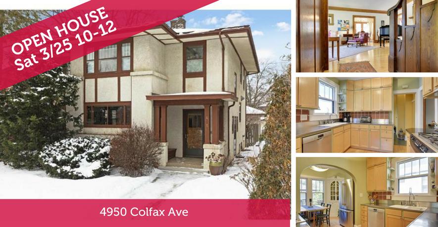 Open House 4950 Colfax Avenue S Minneapolis, MN 55419