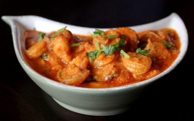 Goan Shrimp + Okra Curry